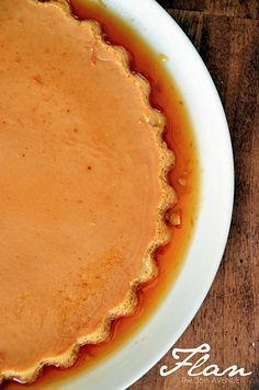 Easiest flan recipe ive ever seen...but is it good? now thats the real question...The 36th AVENUE | Flan Recipe