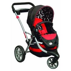 Brave the world with your little one in this durable stroller from Contours. This stroller works facing both forward and backward, and accommodates most car seats for a travel system design. The clear canopy panel lets you watch baby easily. Best Baby Strollers, Double Strollers, Best Lightweight Stroller, Baby Giveaways, Jogging Stroller, Travel Stroller, Baby Jogger, Babies R Us, Travel System