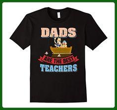 Mens Mens Dads are the Best Teachers Fishing T-Shirt Medium Black - Careers professions shirts (*Amazon Partner-Link)