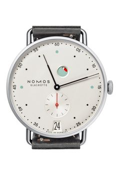 Nomos makes its minimalist timepieces in the former East German town of Glashütte alongside more expensive dial names such as Glashütte Original and A Lange & Sohne. But while Nomos watches appear to be basic, no-frills affairs, they feature good-quality movements, which, as of now, are gradually being equipped with the brand's own, in-house escapement. Watch of the collectionOne of the first models to get the new mechanism - developed at a reported cost of £6.6 million - is the 37mm Metro…