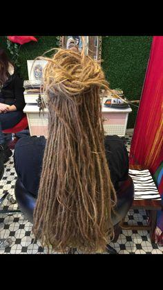 Amazing thin dreads