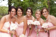Bridal Party at Camp Loughridge #LoughridgeWeddings