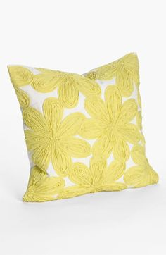 Nordstrom at Home Floral Appliqué Pillow Cover | Nordstrom