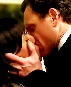 The way he kisses her is like she is his oxygen, like he cant live without her...amazing