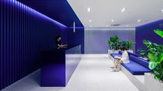 FRAME | How to maximize your success during the Frame Awards 2021 competition Reception Desk Design, Office Reception, Sea Colour, Retail Concepts, Architecture Magazines, Corporate Interiors, Coworking Space, Design Competitions, Seong