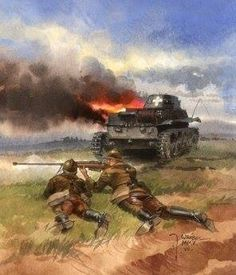 35 (Ur) w akcji. Interwar Period, Invasion Of Poland, Ww2 Uniforms, Armored Vehicles, Military Art, Armed Forces, World War Two, Wwii, Box Art