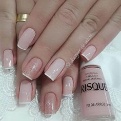 precise nails art design for fall 20 ~ thereds. Nude Nails, Manicure And Pedicure, Gel Nails, Nail Nail, Nagellack Trends, Classy Nails, Nagel Gel, Perfect Nails, French Nails