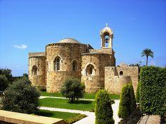 ST. JOHN CHURCH Jbail, Byblos Lebanon, via Flickr.
