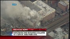 Building explosion and collapse in East Harlem!