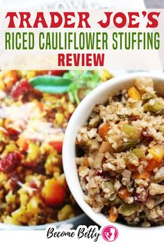If there is one food item I look forward to at the Thanksgiving dinner table, it is stuffing. I'm not 100% convinced that stove top stuffing actually has THAT MANY servings in it. Stuffing goes quickly in my household. There is something completely comforting about the bread/veggie combo! | Become Betty @becomebetty #traderjoes #traderjoesthanksgiving #traderjoesshopping #traderjoesthanksgivingsides #traderjoesstuffing #traderjoesdiditagain #traderjoesfan #traderjoesreview #becomebetty Easy Freezer Meals, Easy Family Dinners, Trader Joes Vegetarian, Best Trader Joes Products, Sloppy Joes Recipe, Thanksgiving Sides, Best Dinner Recipes, Trader Joe's