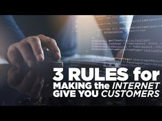 3 Rules for Making the Internet Give You Customers: The Lead Magnet with Frank Kern Improve Yourself, Finding Yourself, Lead Magnet, Grant Cardone, Online Marketing Strategies, Sales And Marketing, Effort, Magnets, Internet
