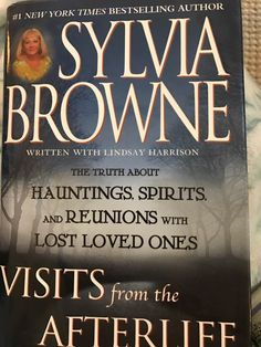 Visits from the Afterlife by Sylvia Browne, Lindsey Harrison 0525947566 9780525947561 Modern Nursery Furniture, Lost Love, Used Books, Bestselling Author, Helping People, Book Worms, Saving Money, Kids Outfits, Daughter