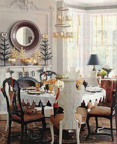 Halloween decorations : Halloween decor IDEAS & INSPIRATIONS Elegant Halloween Dining