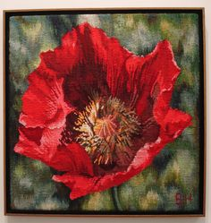 Red Poppy by Barbara Heller