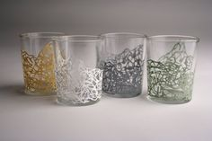 Squiggly votives