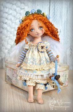 Коллекция кукольных фантазий: Аришка - рыжий Ангел