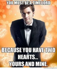 Time lord pick up lines ;)