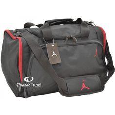 Nike Air Jordan Black and Red Duffel Bag 8A1215-344 at  46.00 at  OrlandoTrend.com  Nike  Jordan  Duffel  Bag  Gym  Gimnasio  Travel  Maletin   Mochila   ... 66da66137122