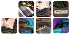 Uppymama - sublime hand woven wraps from Canada.  This company consists of two women who are determined to investigate and be responsible their footprint of their products on the earth.  How awesome is that?