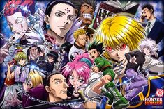 Poster A3 Hunter X Hunter Gon Killua Kurapika Leorio Hisoka Manga Anime Decor 03