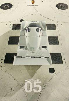 Gashetka | Transportation Design | 1989 | Porsche 962C-011 | Wind TunnelTests |...