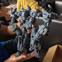 Hascon 2017 - Volcanicus Dinobot Combiner Prototype Close Up Photos