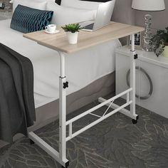 Laptop Desks Responsible 68*35cm Height-adjustable Laptop Table Modern Lift Bedside Table Removable Lazy Notebook Table Sofa Side Writing Desk