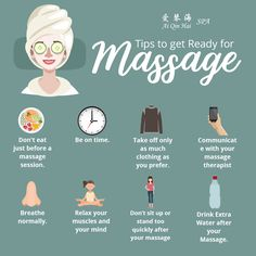 Start the week right by treating yourself a massage at Ai Qin Hai Spa! :) We have here the tips for you to get ready for massage. See you at the spa folks!  For more information or making appointments, call us at +65 6694 8168. Follow us on Instagram at https://www.instagram.com/aiqinhaispa/ #aiqinhaispa #spasg #singapore