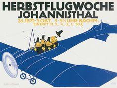 Julius Klinger, Herbstflugwoche Johannisthal, 1911