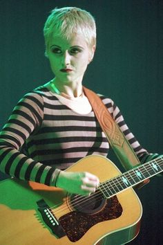 You got me wrapped around your finger ... Dolores O'Riordan from The Cranberries.   Here's What Your Favorite Alt-Rock Crushes From The 1990s Look Like Now