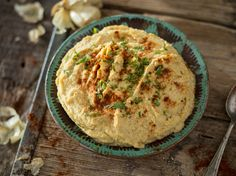 Hummus mit geröstetem Knoblauch_mag