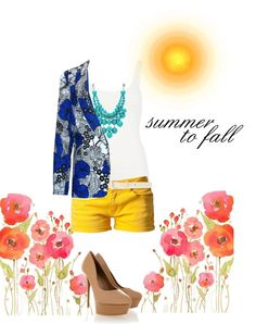"""""""Summer to Fall"""" by mykkerz on Polyvore"""