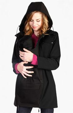 Japanese Weekend Maternity 'MamaCoat™' Convertible Jacket available at #Nordstrom