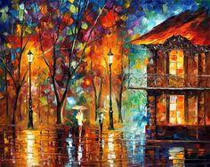 Rain Energy by Leonid Afremov