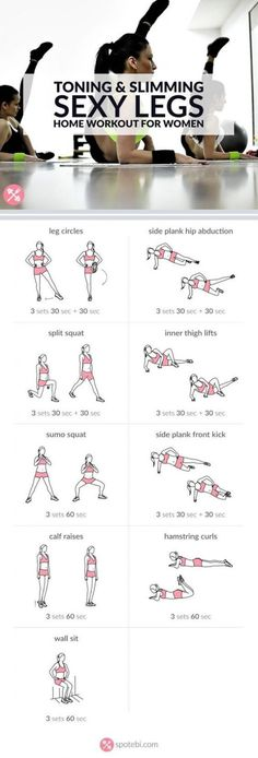 Get lean and strong with this sexy legs workout. Get lean and strong with this sexy legs workout. Get lean and strong with this sexy legs workout. Get lean and strong with this sexy legs workout. Best Leg Workout, Leg Workout At Home, Belly Fat Workout, Slim Legs Workout, Leg Workout Women, Workouts For Legs, Legs Exercise For Women, Outer Thigh Workouts, Weighted Leg Workout