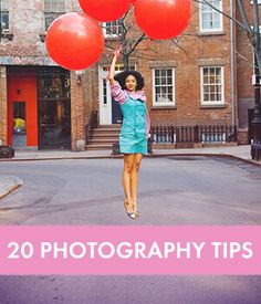 20 Photography Tips