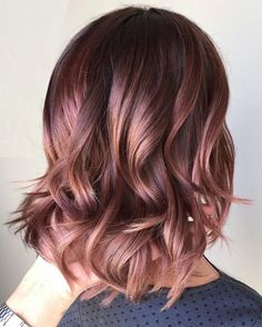 Caramel Ombre hair color ideas for fall winter 2017 2018 for Women's