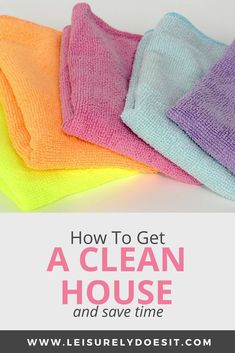 How To Get A Clean House And Save Time - Ideen finanzieren Household Cleaning Schedule, Cleaning Schedule Printable, Daily Cleaning, House Cleaning Tips, Cleaning Hacks, Cleaning Products, Cleaning Routines, Cleaning Solutions, Deep Cleaning