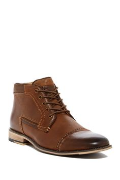 633455d1a5b0 Image of Steve Madden Kaplan Lace-Up Leather Boot Lace Up Boots