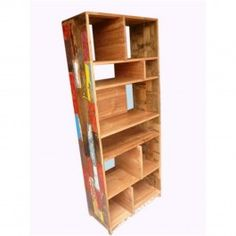BOOKCASE FROM FISHBOATWOOD TEA - 795.00 euro