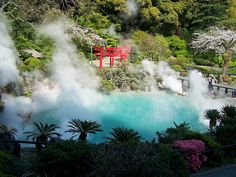 Beppu Onsen (別府温泉) - a group of hot springs in the city of Beppu, Oita