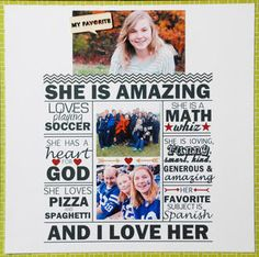 Amazing+by+LisaDorsey+at+@Studio_Calico #scrapbooking	#scrapbooklayout