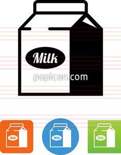 Milk Carton Icon
