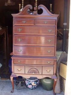 Queen Anne Dresser...MY FAVORITE! !