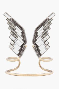 Lanvin Eagle Wings bracelet