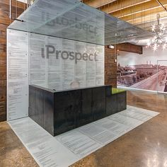 Nathan Allan - iProspect used in a reception desk featuring html code.
