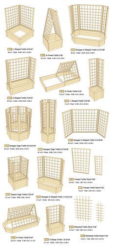 A trellis might be just what you need for patio privacy or a garden space saver. Several good options here. via Allison Evans