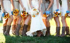 Matrimonio in stile...amate la musica country, gli stivali da cowboy e il profumo del legno?Allora siete destinate a diventare le spose cowboy del 2015: ultimissima tendenza che arriva direttamente dagli USA.