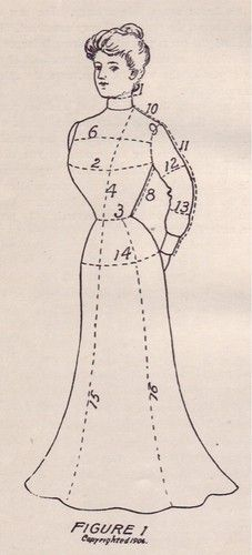 1908 & 1917 Original Dressmaking Books Signed by Author