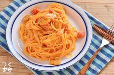 作りおきで簡単に。トマトクリームパスタ | 作り置き・常備菜レシピサイト『つくおき』